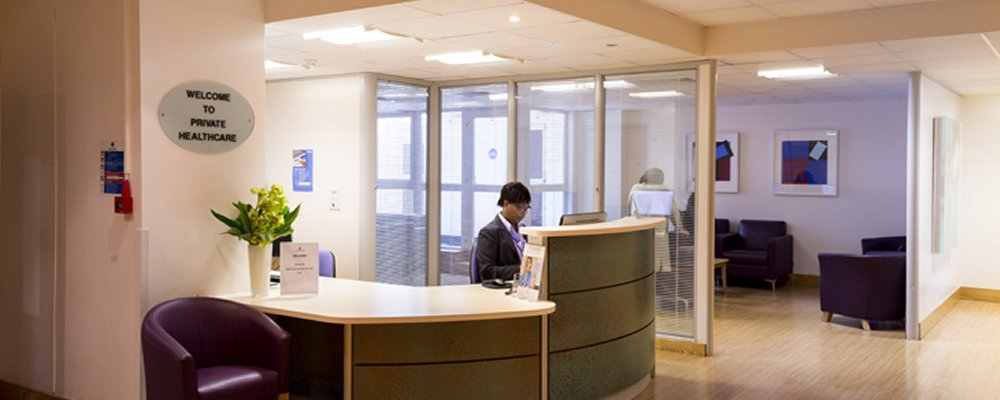 charing cross hospital reception